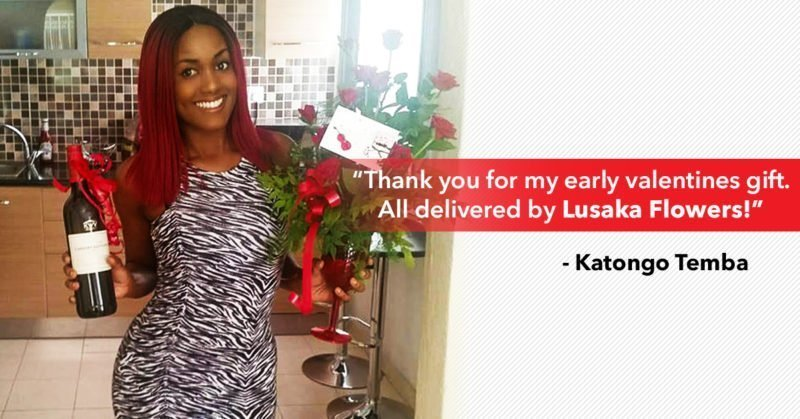 Actual testimonial from a flower recipient in Lusaka Zambia