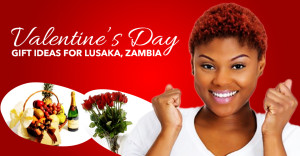 Valentine's day flowers and gifts to Zambia