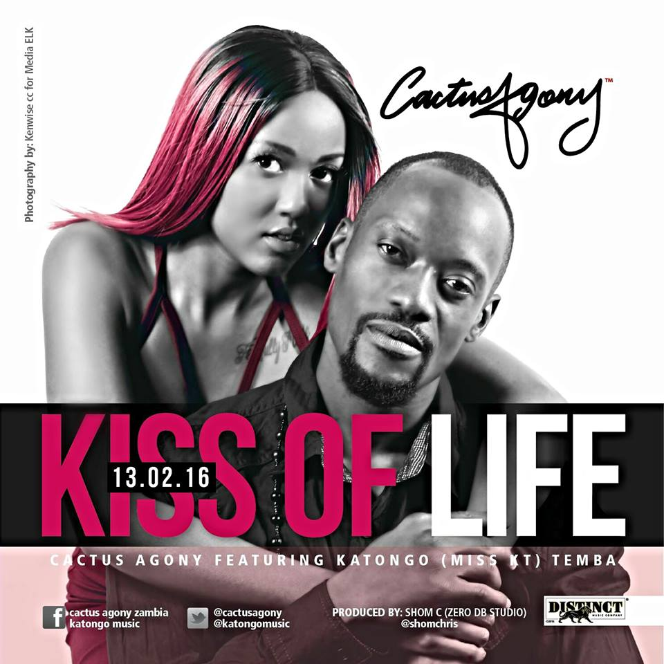 Cactus Agony Announces New Single Featuring Katongo Temba: 'Kiss of Life'